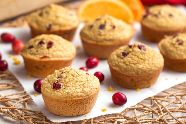 Hungry Girl's Healthy Cranberry Orange Blender Muffins Recipe