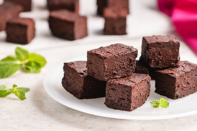 Hungry Girl's Healthy Hint-of-Mint Chocolate Fudge Recipe