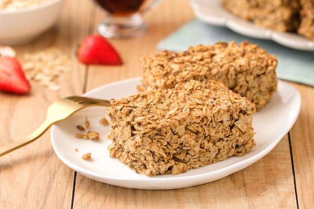 Hungry Girl's Healthy Simple Oatmeal Bake Recipe
