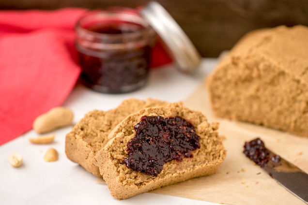 Hungry Girl's Healthy Peanut Butter Blender Bread Recipe