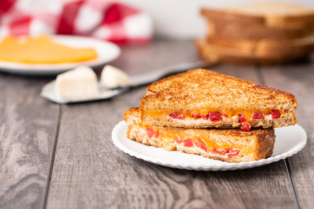Hungry Girl's Healthy Fancy 5-Minute Grilled Cheese Recipe