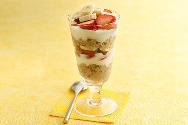 Super-Sized Berry-nana Oatmeal Parfait