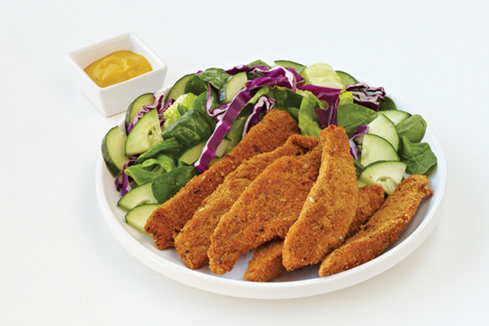 Healthy Fried Chicken Strips Recipe