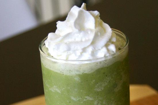 HG's Green Tea Crème Swappuccino