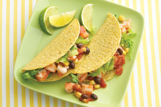 Shrimp Cocktail Tacos