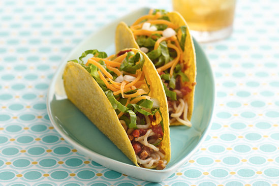 Healthy iHungry Spaghetti Tacos Recipe