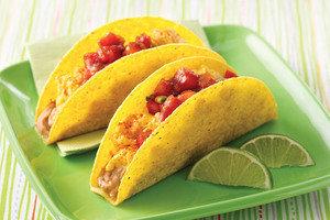 Healthy Breakfast Fiesta Crunchy Tacos Recipe