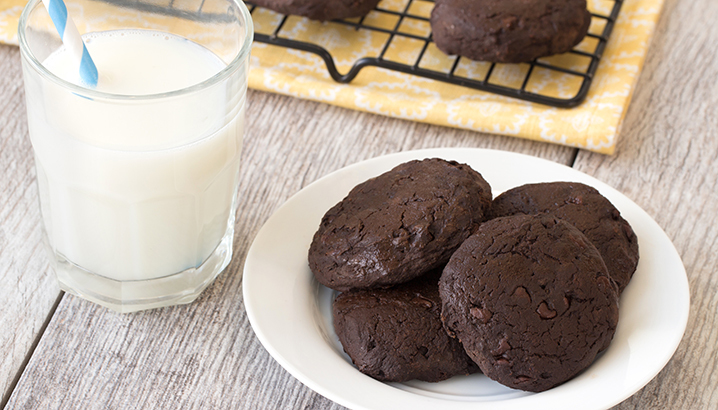 Hungry-Girl Video: 56-Calorie Fudgy Chocolate Cookies!