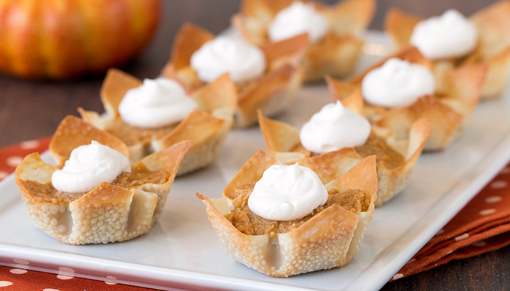 Hungry-Girl Video: World's Cutest Pumpkin Pies