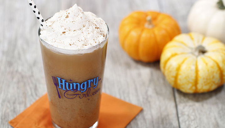 Hungry-Girl Video: Pumpkin Spice Latte Swappuccino