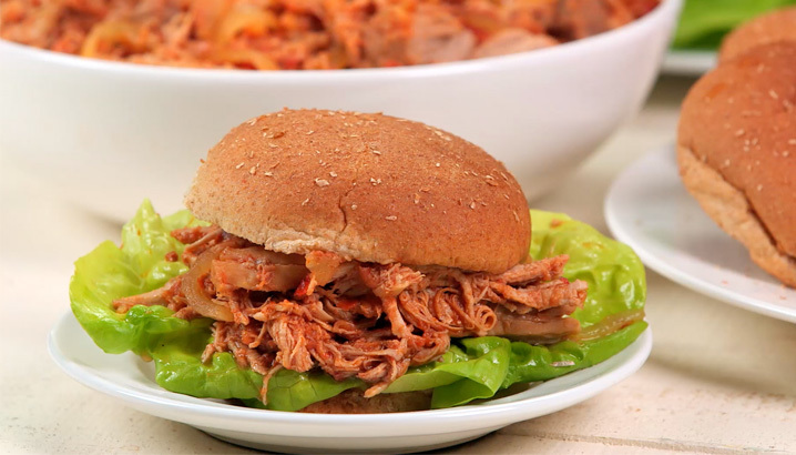 Hungry-Girl Video: Slow-Cooker Hawaiian BBQ Pulled Pork
