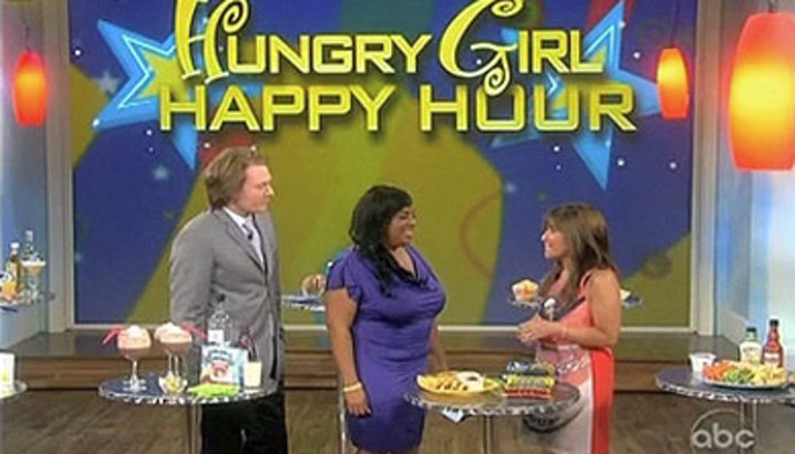 "Hungry-Girl Video: The View ""Happy Hour"" (July 2010)"