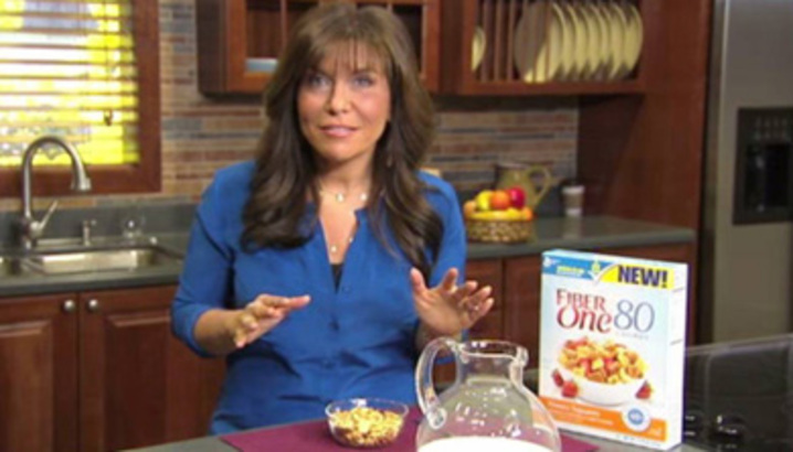 Hungry-Girl Video: Sponsored Video: Introducing... Fiber One 80 Calories Cereal!