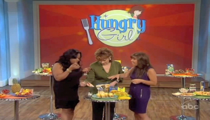 Hungry-Girl Video: The View (May 2011)