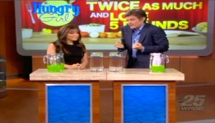 Hungry-Girl Video: The Dr. Oz. Show (November 2012)