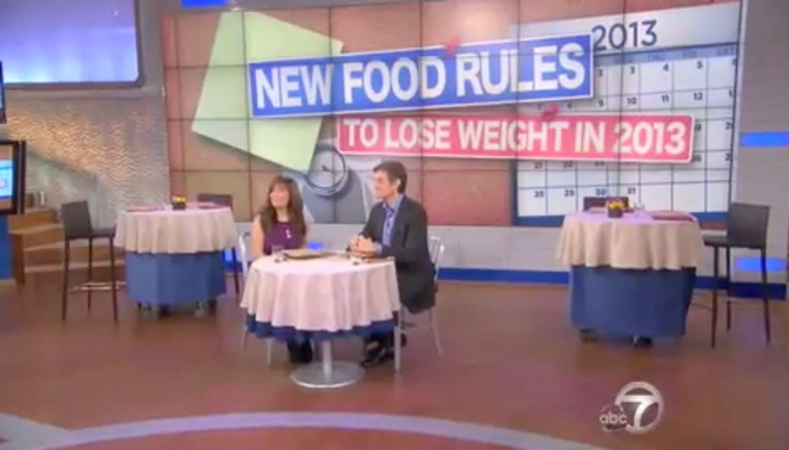 Hungry-Girl Video: The Dr. Oz. Show (January 2013)