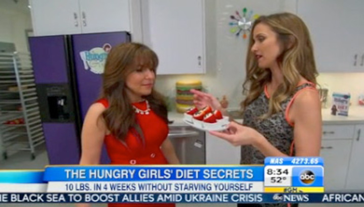 Hungry-Girl Video: Good Morning America (April 2014)