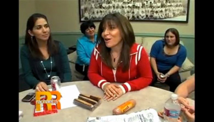 Hungry-Girl Video: Rachael Ray Schoolroom Ambush (November 2009)