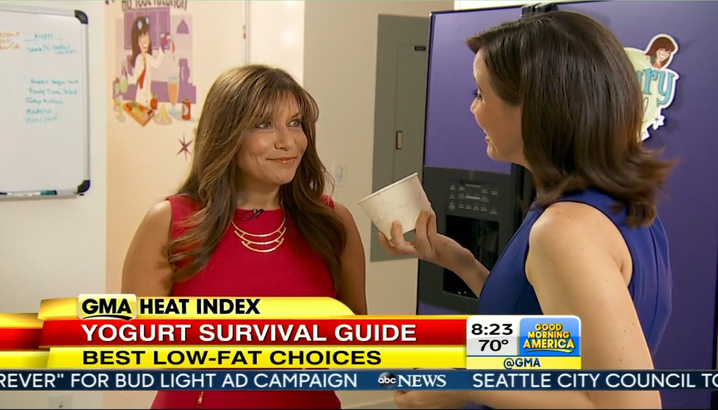 Hungry-Girl Video: GMA: Frozen Yogurt Survival Guide (8/14)