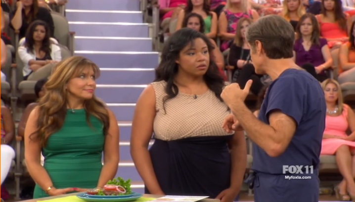 Hungry-Girl Video: The Dr. Oz. Show (September 2014)