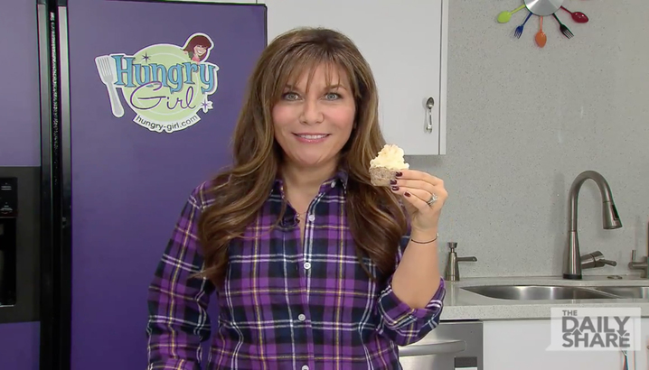 Hungry-Girl Video: HLN: Mashie-Topped Meatloaf Cupcakes (January 2015)