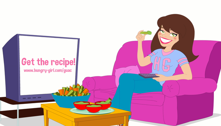 Hungry-Girl Video: How To... Make Low-Fat Guacamole!