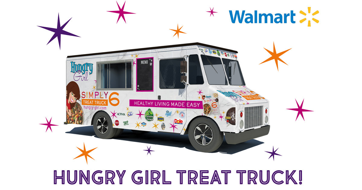 Simply 6 Food Truck Tour Samples Coupons More At Walmart Hungry Girl