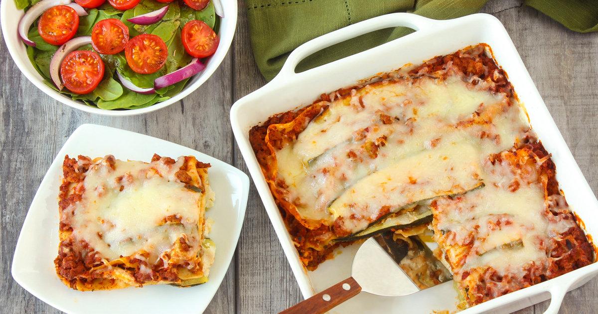 6 Ingredient Zucchini Lasagna