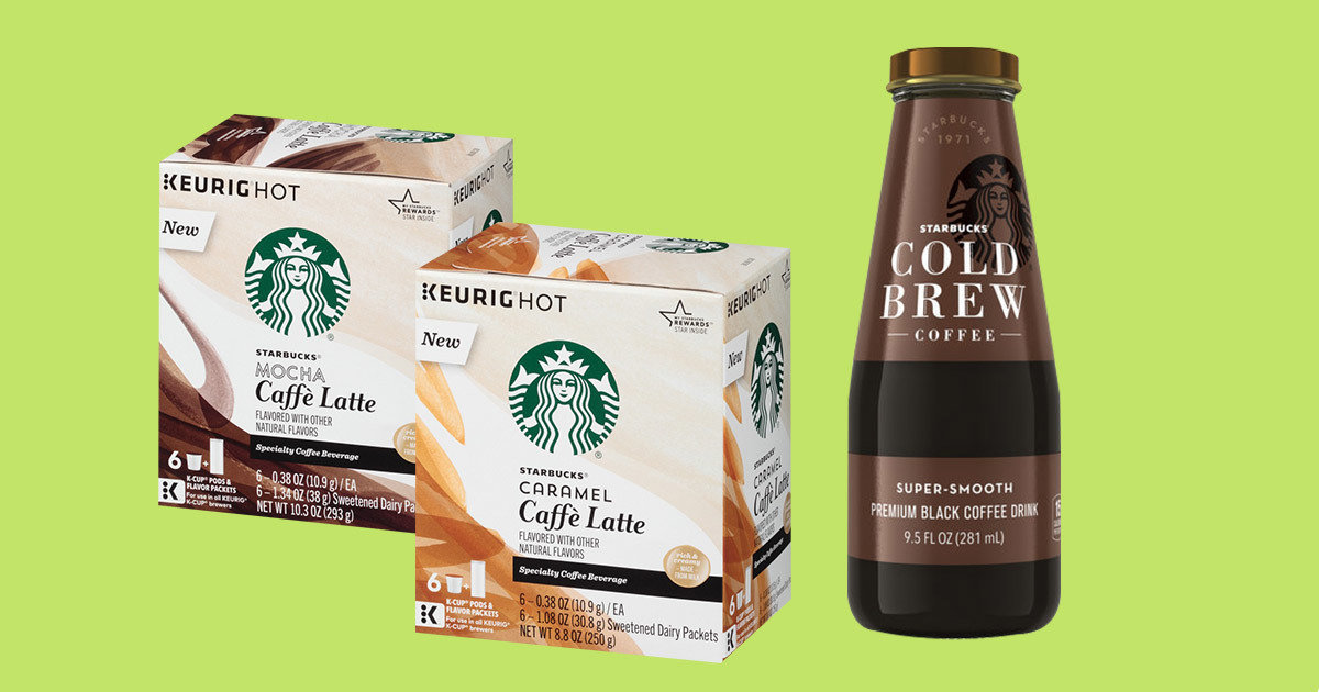 Low Sugar Snack Bars Starbucks Caffe Latte K Cups Calories