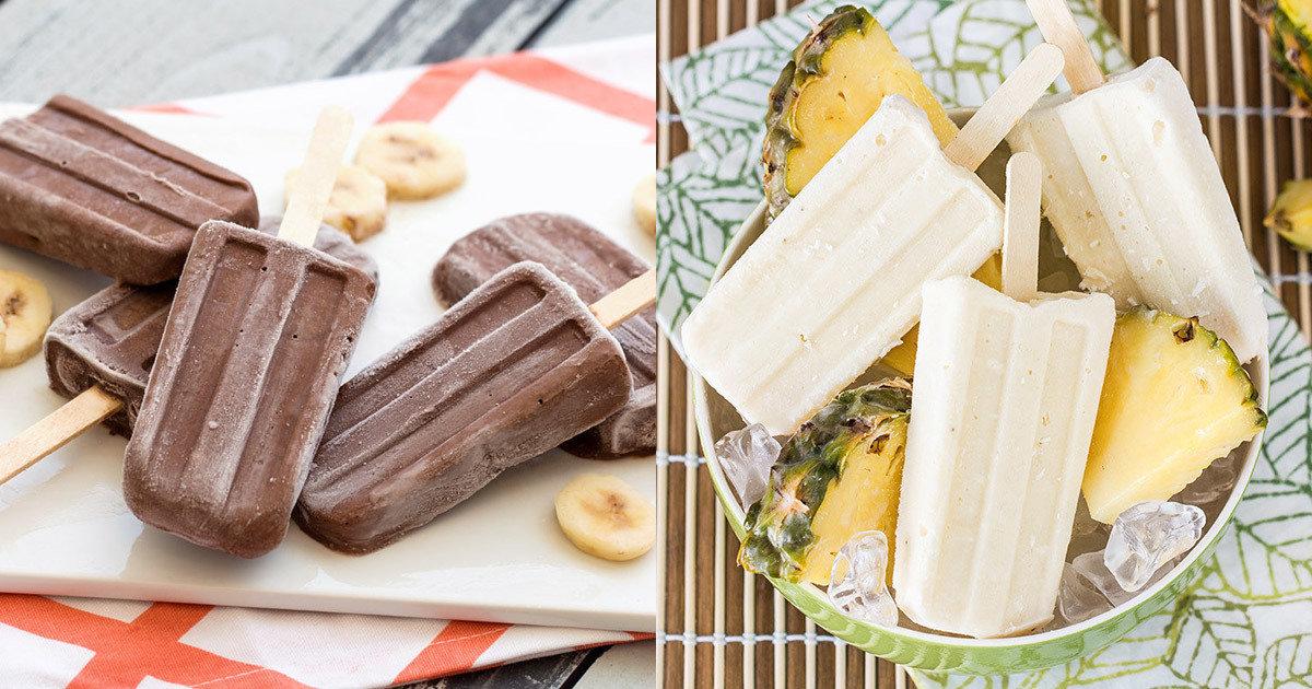 Healthy Frozen Yogurt Popsicle Recipes Banana Fudge