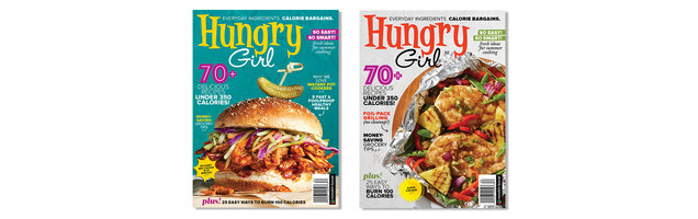Help Choose the Next Cover of Hungry Girl Magazine!
