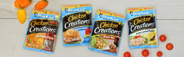 Our New Favorite Pantry Staple... StarKist Chicken Creations