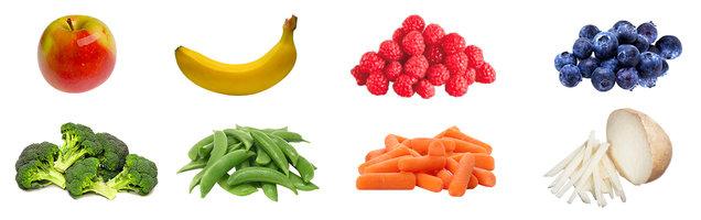 Filling Fruits & Veggies