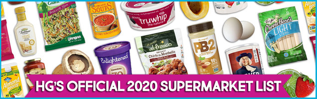 OFFICIAL 2020 SUPERMARKET LIST