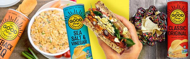 8 Crave-Worthy Ways to Use The Good Crisp Company Potato Crisps & Cheese Balls