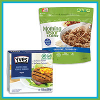 Meatless Crumbles & Burger Patties
