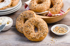 Hungry Girl's Healthy Easy Everything Bagels Recipe
