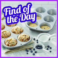 Amazon Find of the Day: Wilton Recipe Right Non-Stick 6 Cup Jumbo Muffin Pans
