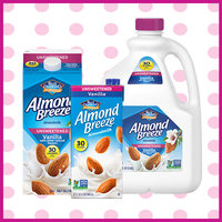 Instead of Dairy Milk… Unsweetened Vanilla Almond Milk