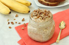 Hungry Girl's Healthy Banana French Toast Overnight Oats Recipe
