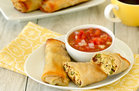Hungry Girl's Healthy Bestest Breakfast Egg Rolls Recipe
