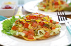 Hungry Girl's Healthy Cheeseburger Tostadas Recipe