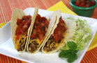 Hungry Girl's Healthy Mega-Meaty Meatless Tacos Recipe