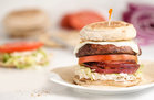 Hungry Girl's Healthy Ring-My-Bella Mushroom Sandwich Recipe