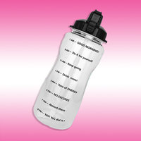 BuildLife Motivational Water Bottle