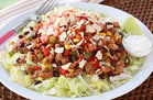 Hungry Girl's Healthy Turkey Taco Salad Recipe