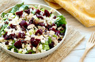Hungry Girl's Healthy Beets Me Shredded Chicken Salad Recipe