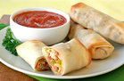 Hungry Girl's Healthy Pizza Egg Rolls Recipe