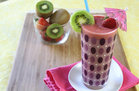 Hungry Girl's Double-0-Strawberry Quickie Kiwi Smoothie Recipe