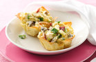 Hungry Girl's Healthy Cheesy-Good Breakfast Tartlets Recipe